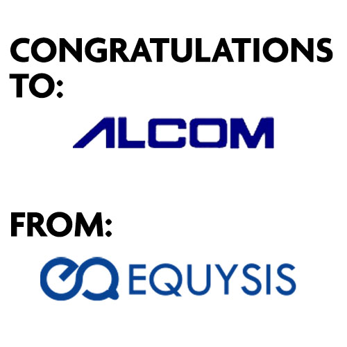 CONGRATULATIONS TO ALCOM